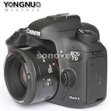 YONGNUO YN 50mm F1.8 Lens Large Aperture Auto Focus Lens YN 50 YN50 for Canon EOS DSLR Cameras