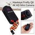 El envío gratuito! hawkeye firefly q6 4 k hd 12mp cámara de la acción de 120 grados lente gran angular para drone