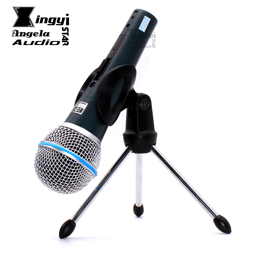 BT58A Professional Vocal Dynamic Wired Microphone Stand For Computer Sing BETA 58A BT 58A NO/OFF Switch With Karaoke Mic Holder