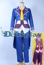 NO GAME NO LIFE Sora Cosplay Costume Halloween Uniform Japan Anime The Tuxedo Shirt+Vest+Coat+Pant+Tie