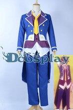 No juego NO LIFE Sora Cosplay traje de Halloween uniforme japón Anime el esmoquin camisa + chaleco + capa + Pant + Tie