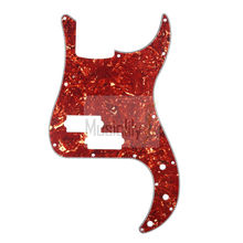 Vintage Tortoise Shell 4Ply P Bass Pickguard For US/Mexico Standard PB Precision Bass Style