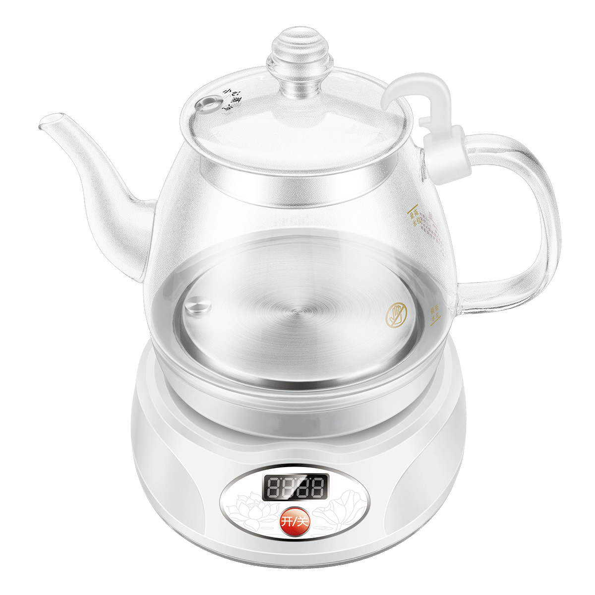 Electric kettle The electric has a multi-function automatic power cut glass цена 2017