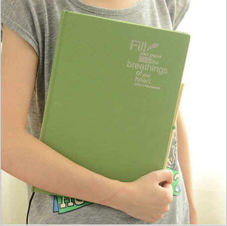 Professional Blank A4 sketchbook Diary For Drawing painting Notebook Paper 48 sheets sketch book Office School Supplies gift