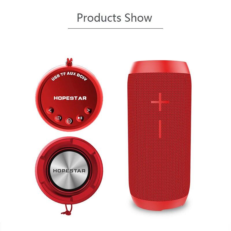 HOPESTAR P7 Portable Wireless Bluetooth 4.2 Speaker WaterProof IPX6 Bass Outdoor Mini Stereo Loudspeaker Charge Mobile FM TF MP3 hopestar a6 bluetooth speaker portable wireless loudspeaker outdoor ipx6 waterproof big power bank 3d stereo sound