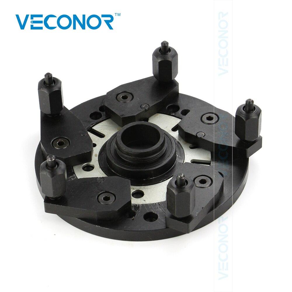 VECONOR Multiples Universel Roue Balancer Adaptateur Plaque Adaptable à La Fois 36mm et 40mm Roue Arbre D'équilibrage