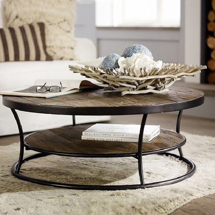 American Iron Coffee Table Ikea Short Round Tea Table To Do The Old Retro Mash Roundtable Wood