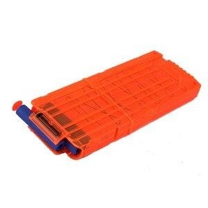 Image 5 - VICIVIYA 100Pcs רך צעצוע אקדח כדורים עגול ראש אוויר חור חצים קצף כדור 7.2cm