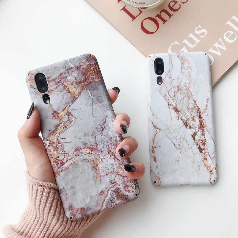 LANCHE для xiaomi Redmi Note 7 Чехол Жесткий ПК мраморный чехол для телефона с узором для xiaomi mi 8 Lite mi 9 mi 9 чехол для xiaomi Play Coques