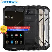 DOOGEE S60 IP68 waterproof shockproof phone 5.2'' FHD Helio P25 Octa Core 6GB 64GB 4G smartphone android 7 5580mAh 21.0MP Camera