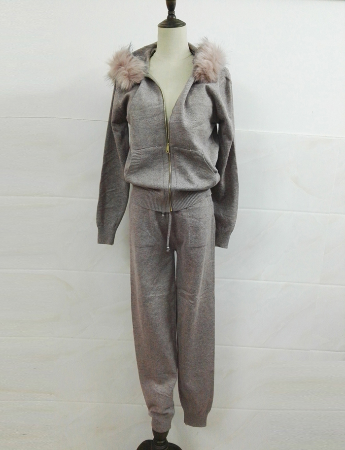 Winter Knitted Suit for Women 10