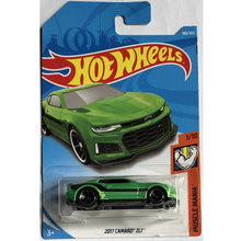 New Arrivals 2018 8h Hot Wheels 1:64 green 2017 camaro zl1 Car Models Collection Kids Toys Vehicle For Children hot cars(China)