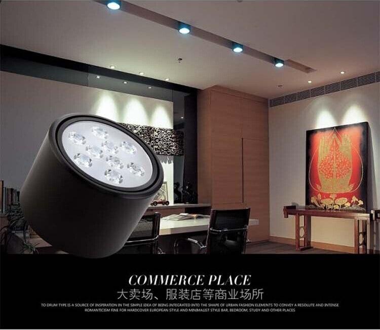 10 шт./лот 7*2 Вт Downlight CREE СВЕТОДИОДНАЯ лампа потолка Встраиваемые AC85V-245V для домашнего освещения Бесплатная доставка