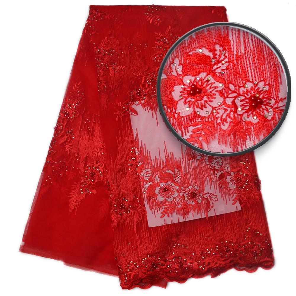 Srebrny szary haftować tkanina z koronki, afryki ślubne koronki materiałów, peruka afrykańska typu swiss Lace tkaniny wysokiej jakości MR830b w Koronka od Dom i ogród na  Grupa 2