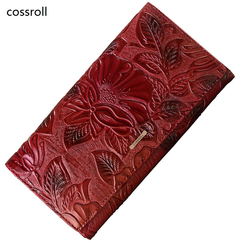 high quality women wallets genuine leather wallet long luxury brand womens purses real leather ladies clutch purse ...