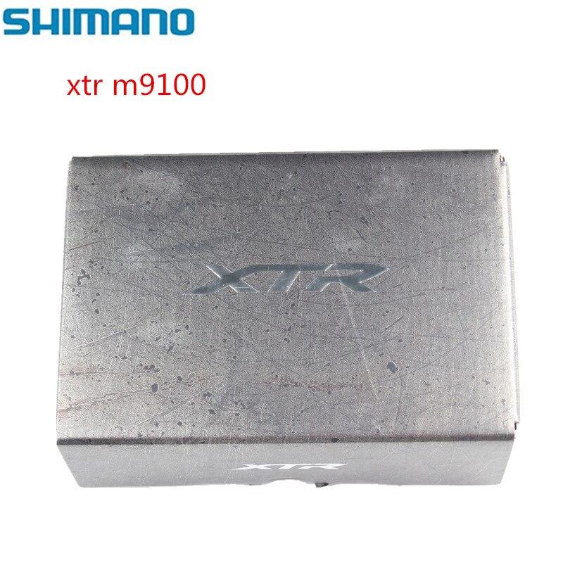 シマノ XTR M9100 M9120 マウンテンバイク SPD クリップレースペダルセット & クリートアップグレード M9000 M9020  グループ上の スポーツ & エンターテイメント からの 自転車のペダル の中 1