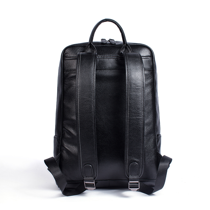 WESTAL Men Genuine Leather backpack Male laptop casual man Messenger Backpack Schoolbag Backpacks in men's casual daypacks 8110