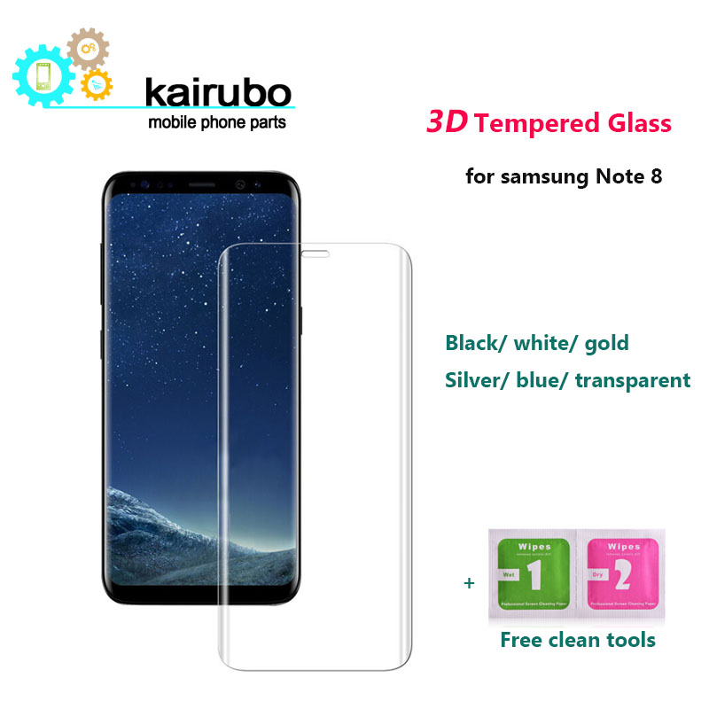 100PCS sFor Samsung Galaxy Note 8 Screen Protector Tempered Glass For Film N950 <