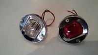 bulb 12v Round Stainless Steel 12V 24V Marine Boat Tail Light 8W Tungsten Bulb Navigation Lamp Waterproof (3)