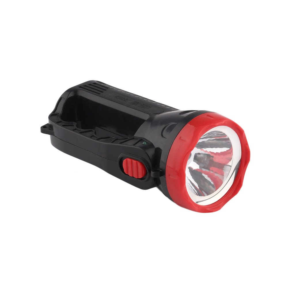 Outdoor LED Bright Charging Strong Light Flashlight Torch Light One Lamp Head LB88