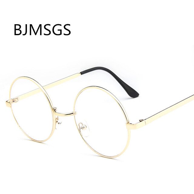 171655c18e4 2018 Style New Steampunk Round Sunglasses Women Metal Frame Retro Sun  Glasses Clear Lens Sunglasses Dropshipping