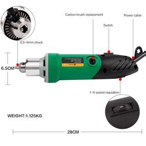 Image 4 - 30000 t/mn 480W perceuse électrique Mini graveur avec 6 vitesse Variable pour Dremel métallisation perceuse polissage 110V/220V