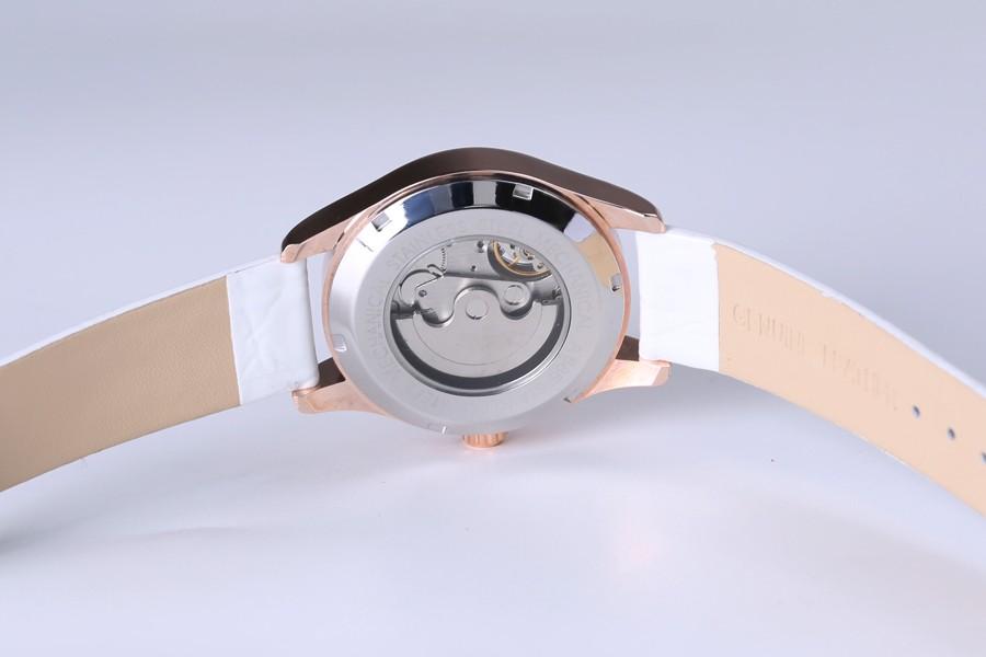 Natural relojes cuero lujo 8