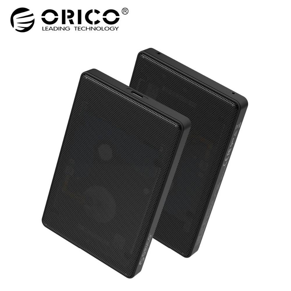 "ORICO 2.5"" Type C SATA HDD Case Full Mesh HDD Hard Disk Drive External 5Gbps HDD Enclosure USB3.0 Hard Drive Enclosure Price $16.91"