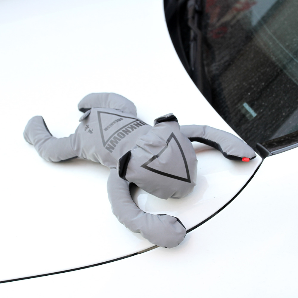 Car Roof 3D Decoration Car Sticker UNKNOWN Doll Auto Exterior Accessories Car Sticker Car Styling