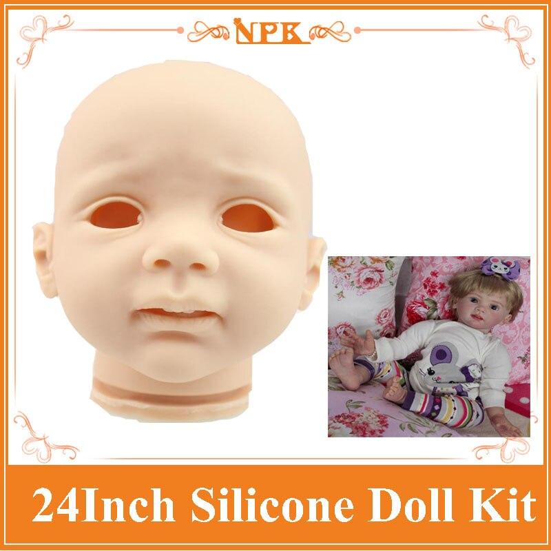 ราคาที่ดีRebornตุ๊กตาเด็กวัยหัดเดินชุดทำโดยไวนิลซิลิโคนอ่อนนุ่มร้อนยินดีต้อนรับชุดตุ๊กตาทารกเกิดใหม่สำหรับเด็กที่จะDIYตุ๊กตาของเล่น-ใน อุปกรณ์เสริมตุ๊กตา จาก ของเล่นและงานอดิเรก บน   1