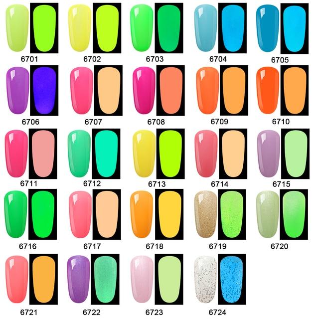 Elite99 60ML Night Glow Gel Macaron Farbe Nagellack Vernis Semi Permanant UV Gel Lack Für Nägel Make-Up Kunst maniküre Gel