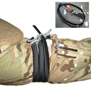 Image 3 - Torniquete de emergencia para viaje al aire libre, uso militar, equipo de primeros auxilios de seguridad portátil, torniquete de emergencia táctico