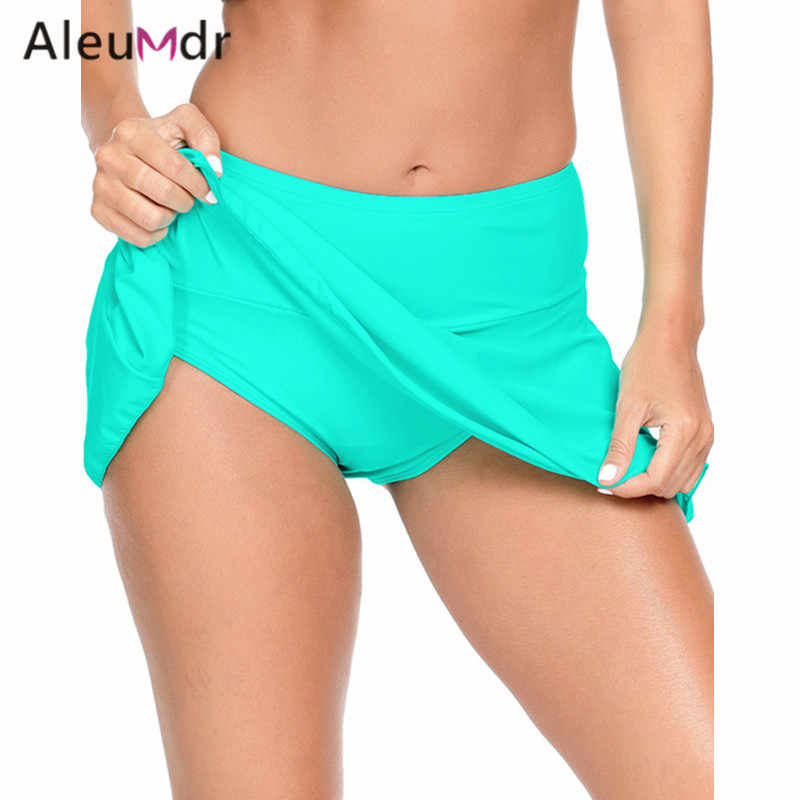 0155b69369ddb ... Aleumdr Hot Sale High Waist Bikini Bottoms Women Swimsuit Ruffle Swim  Skirt Bottoms LC410780 Bas De ...