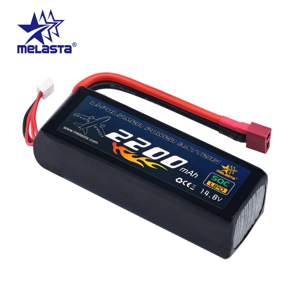 MELASTA 14.8V 2200mAh 4S LIPO Battery Packs with Deans -T Discharge Connector for RC Racing Cars Aircraft Boat Truck Plane DroneMELASTA 14.8V 2200mAh 4S LIPO Battery Packs with Deans -T Discharge Connector for RC Racing Cars Aircraft Boat Truck Plane Drone