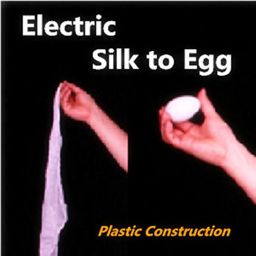 Electric Silk to Egg (Plastic Construction,Slow Speed) - Magic Trick,Gimmick,Stage,Professional Magic show,mentalism,Illusion perfect silk to ball red automatic ver3 trick silk magic ball magic magic tricks fire props comedy mental magic