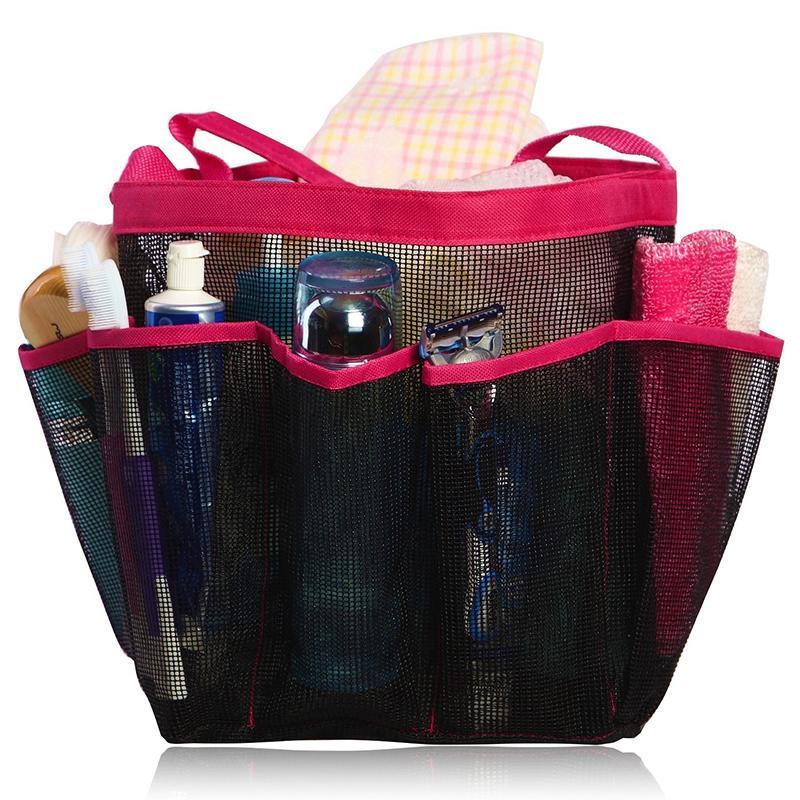 Shower Mesh Bag Portable Quick Dry