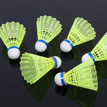 6Pcs/Set Training Badminton Nylon Shuttlecocks Badminton Ball Outdoor Sports Practice Accessories