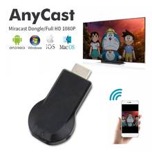 2 4G/5G Anycast M100 TV Stick Miracast 4K HDMI DLNA Airplay WiFi Display  Receiver Dongle for IOS Android PC