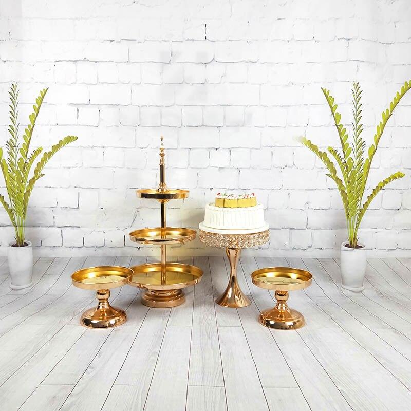 3 шт 5 шт цвета: золотистый, серебристый стенд для выпечки лоток Свадебная вечеринка Украшение стола для кекс для десерта, шоколада стенд