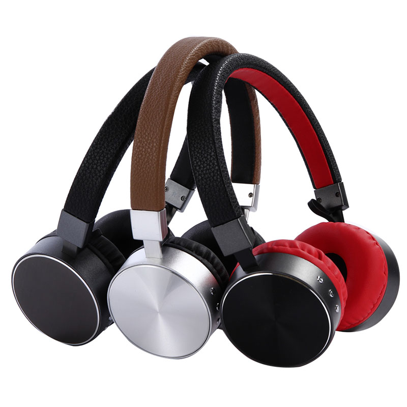 Bluetooth Headphones Wireless Stereo Music Metal Headset Sport Earpiece With Mic For Smartphone Xiaomi Tablet MP3 PC new bluetooth headset wireless headset folding headphones mp3 player fm radio music stereo headphones for xiaomi headphones