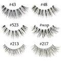 10 Estilos Handmade Cílios Falsos Natural Macio Longo Eye Lashes Extensão Maquiagem Profissional Atacado 523/WSP