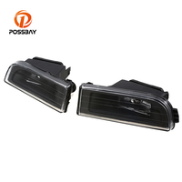 POSSBAY Clear Shell Fog Lights Headlight Lens Cover Fit for BMW E38 7 Series 1995 2001 Car Exterior Parts