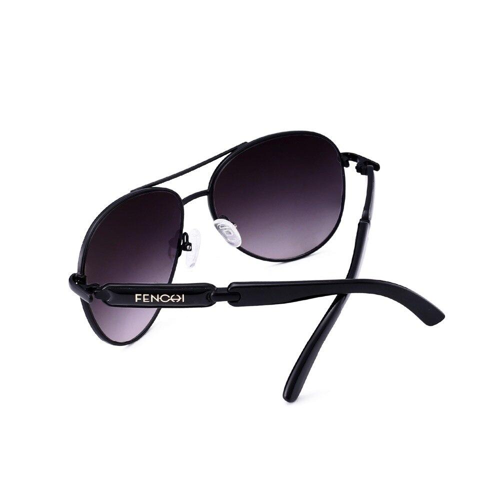 FONHCOO vintage fashion sunglasses wanita logam pria kacamata driver - Aksesori pakaian - Foto 5