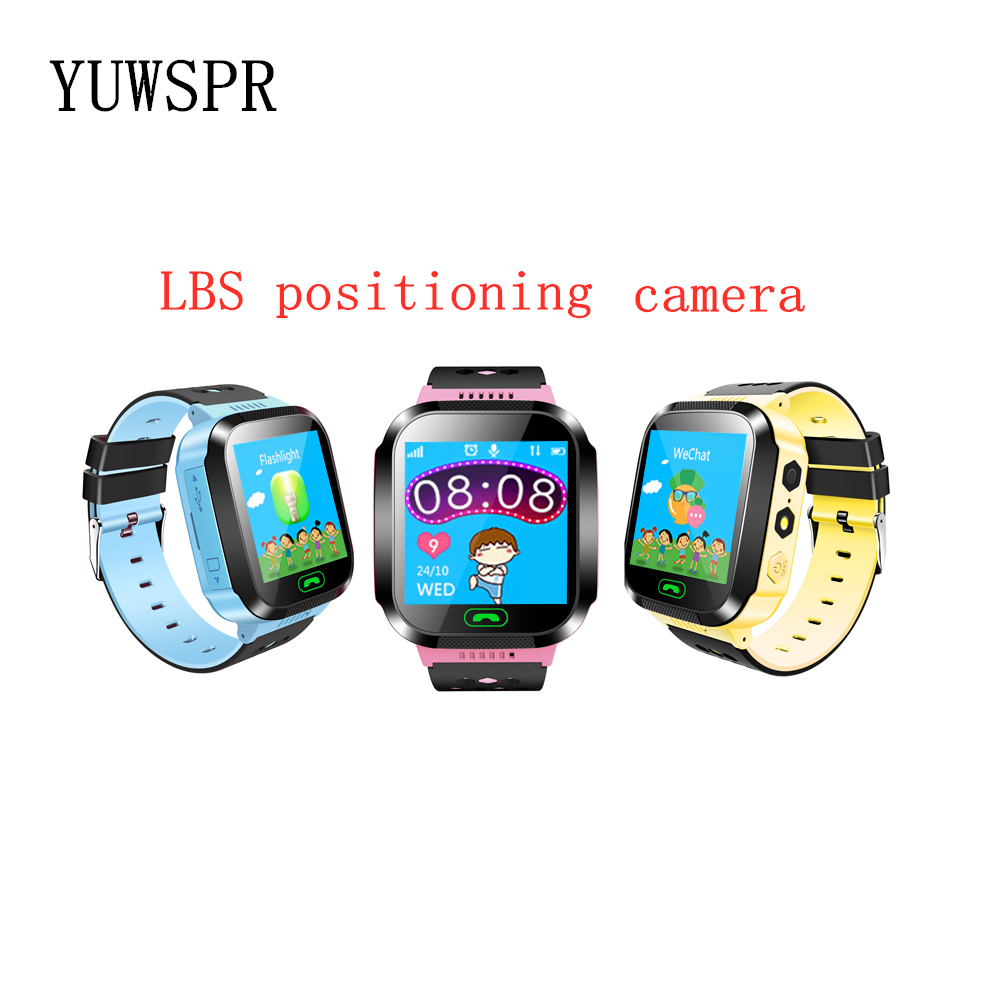 Watch Tracker Location-Camera Sos-Call-Recorder Flashight Q528Y School Girl Kids LBS