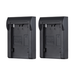 Image 5 - 2pcs LP E6 Battery Plate for Neweer Andoer Dual/Four Channel Battery Charger for Canon EOS 5DII   5DIII 5DS 5DSR 6D 7DII 60D