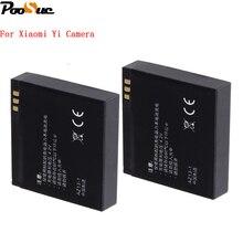 High Quality 2PCS Xiao mi yi xiaoyi battery 1010mAh 3 7V AZ13 1 Li ion battery