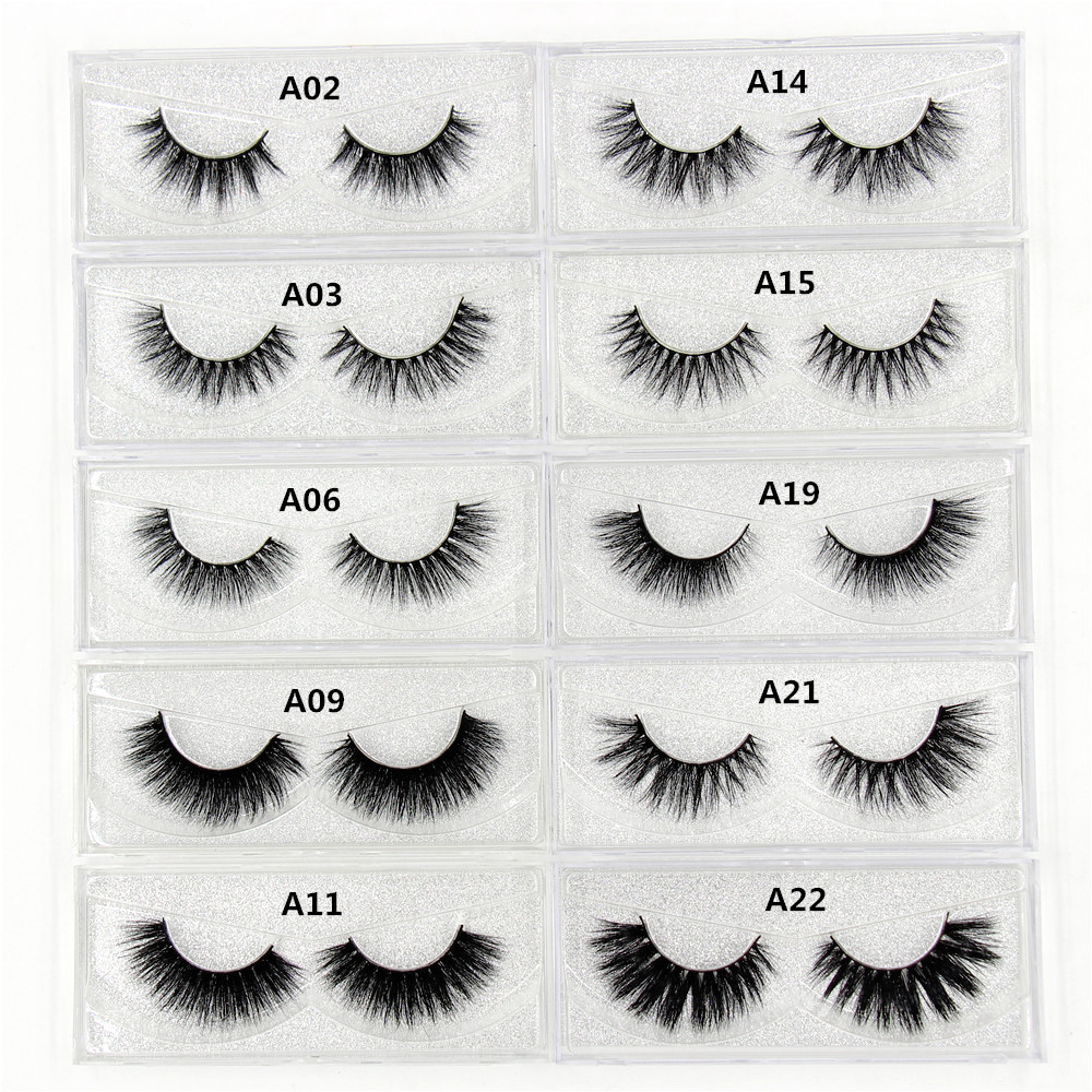 Mink Eyelashes 3D Mink Lashes Thick HandMade Full Strip False Eyelashes cruelty free Korean Mink Lashes 34 Style False Eyelashes цена