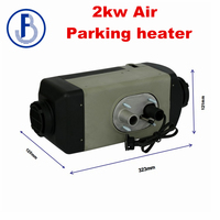 2018 Newest Air top 2Kw Auxiliary parking heater 24V similar to Webasto Diesel ( not Webasto ) with 1 x 60mm ducting