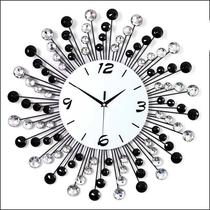 Online Get Cheap Wall Clock Design Diamond Aliexpresscom
