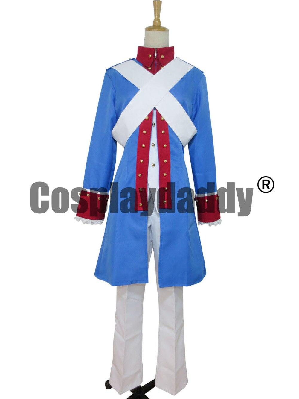 헤탈리아 축 힘 미국 남북 전쟁 군사 유니폼 H008